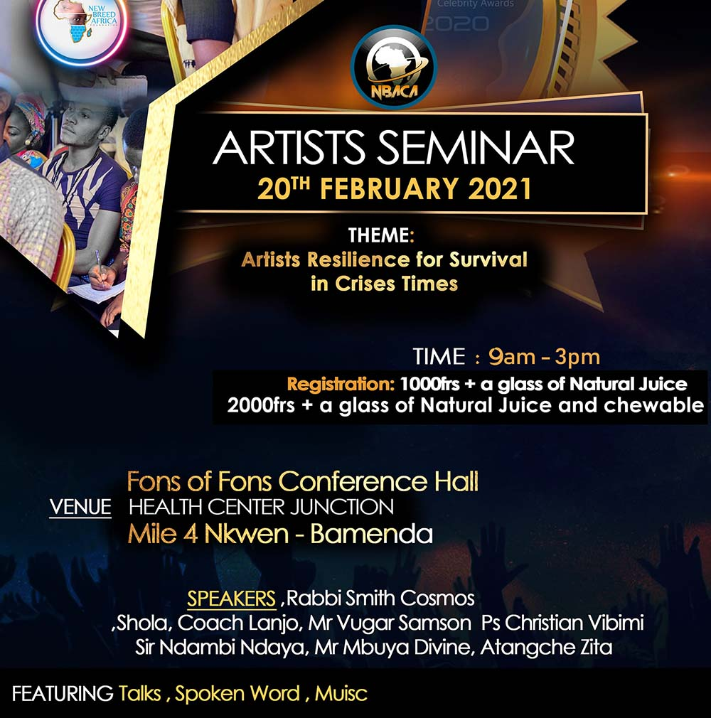 New Breed Africa Artists Seminar